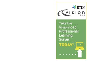 Take the 2016 Vision K 20 Professional Learning Survey