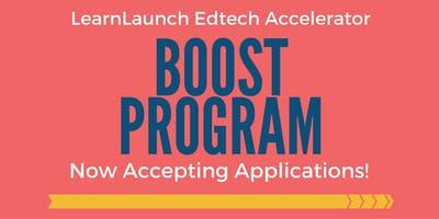 LearnLaunch Accelerator BOOST Program - Applications Now Open