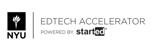 NYU Edtech Accelerator, powered by StartEd