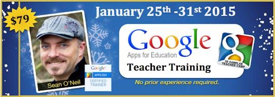 Google Apps For Education Teacher Tranining