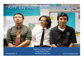 KIPP Bay Area Schools Career Fair