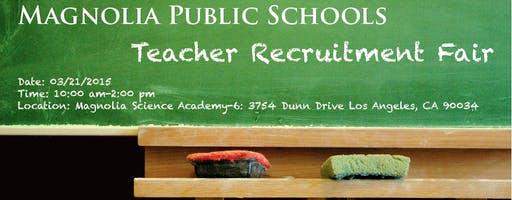 Magnolia Public Schools Teacher Recruitment Fair
