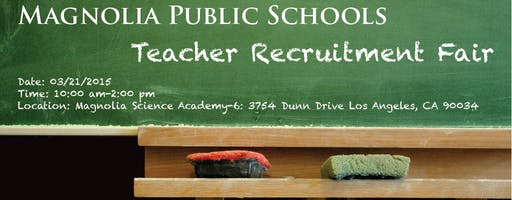 Magnolia Public Schools Teacher Recruitment Fair