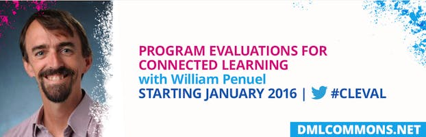 Free Online Connected Learning Program Evaluation Course