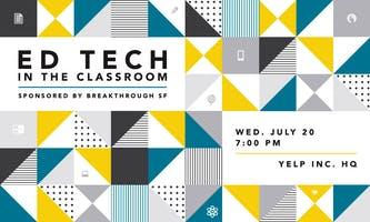 Ed Tech in the Classroom - Speaker Panel & Mixer