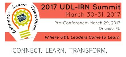 UDL-IRN 2017 Summit