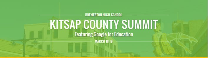 Kitsap County Summit featuring Google for Education
