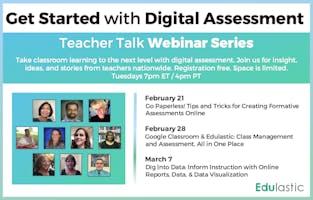 Teacher Talk Webinar Series