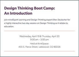Design Thinking Boot Camp: An Introduction