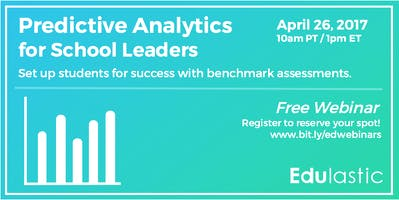 Predictive Analytics for School Leaders