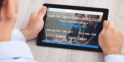 Lean Six Sigma Green Belt- 4 days Classroom Training in San Diego