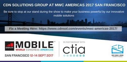 MWC Americas 2017 San Francisco