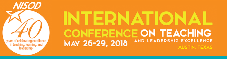 NISOD International Conference on Teaching and Leadership Excellence