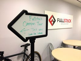 Fullstack Academy and Grace Hopper Program Lunchtime Campus Tour