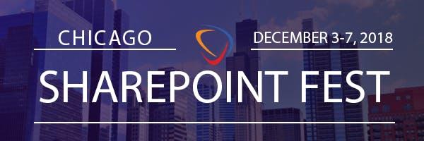 SharePoint Fest Chicago 2018