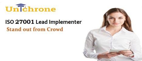 ISO 27001 Lead Implementer Training in San Antonio Texas United States