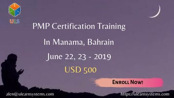 PMP Online Certification Training Course in Manama, Bahrain