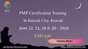 PMP Online Certification Training Course in Kuwait city, Kuwait