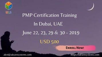 PMP Online Certification Training Course in Dubai, UAE