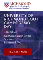 University of Richmond Boot Camps Demo Day