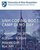 UNH Coding Boot Camp Demo Day