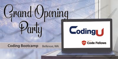 CodingU powered by Code Fellows Launch Party