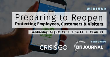 Preparing to Reopen: Protecting Employees, Customers, and Visitors