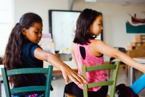 Chair Yoga and Mindful Practices for Deaf and Hard of Hearing Children