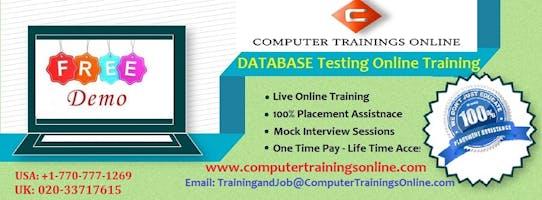 Database Testing Online Training