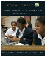 The 2014 Global Education Donor-a-thon & Benefit