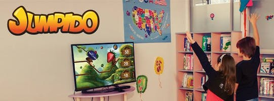 Meet Jumpido the innovative educational Kinect based game in LA