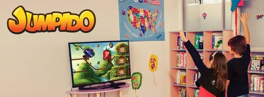 Meet Jumpido the innovative educational Kinect based game in San Francisco