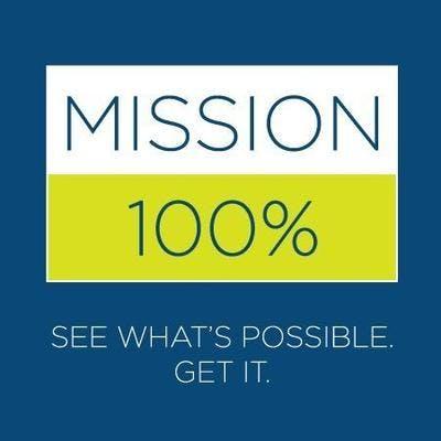 Mission 100 Percent