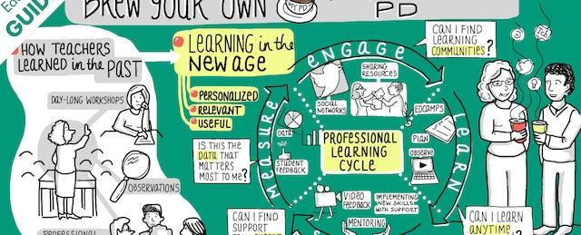 How Teachers Are Learning: Professional Development Remix