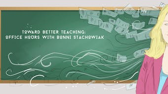 Toward Better Teaching: Office Hours With Bonni Stachowiak