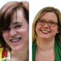 Louise Dube and Carrie Ray-Hill