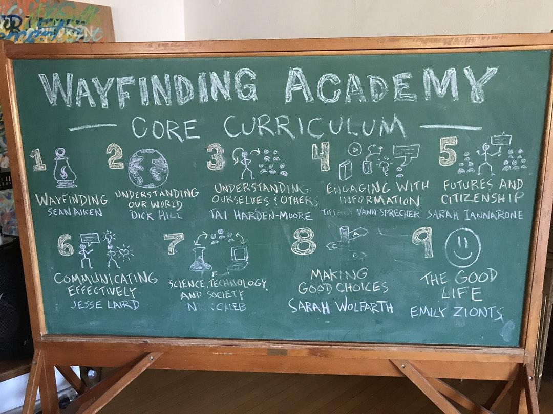 Wayfinding curriculum