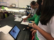 Students work on a project created out of the KIPPovate program.