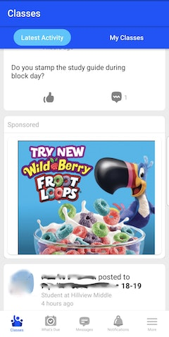 Edmodo Froot Loops Hillview