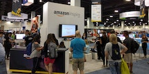Amazon Inspire booth at ISTE 2016