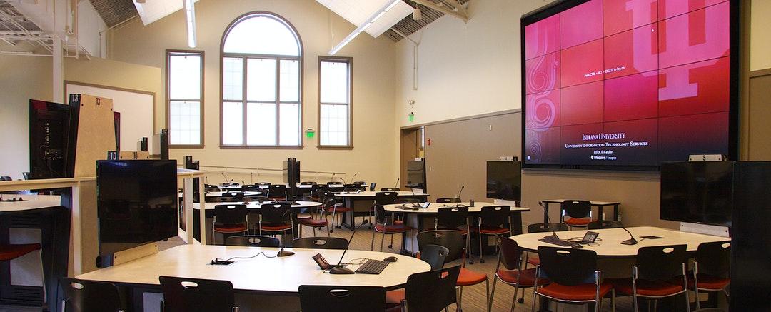 Collaborative Learning Studio at Indiana University