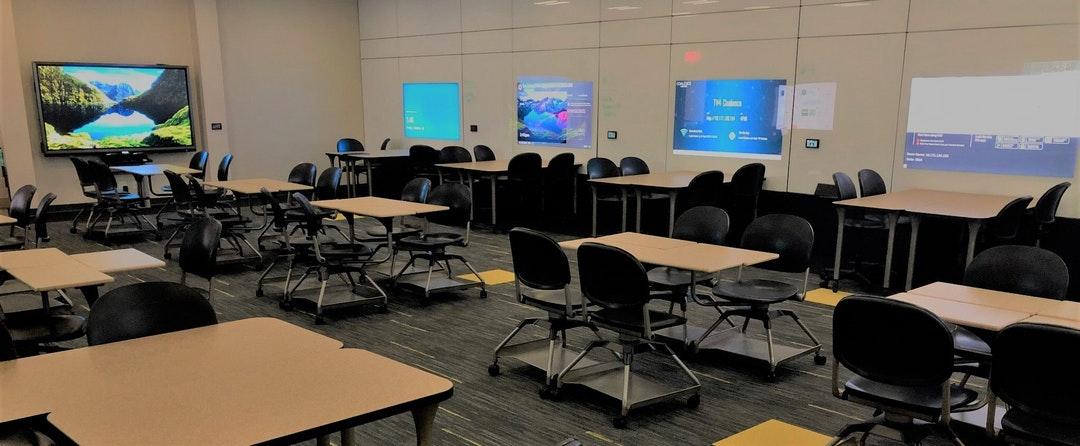 Sandbox classroom at the University of Central Florida