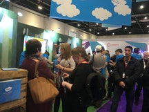 Twinkl booth at Bett