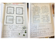 Students take different approach to solve a math exercise