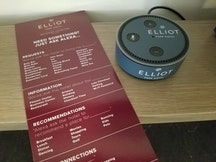 Alexa recommendations at Elliott Park Hotel