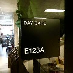 CHEC day care sign
