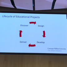 slide from conference on education lifecycle