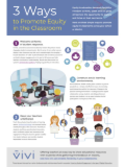 3 Ways to Promote Equity in the Classroom [Infographic]