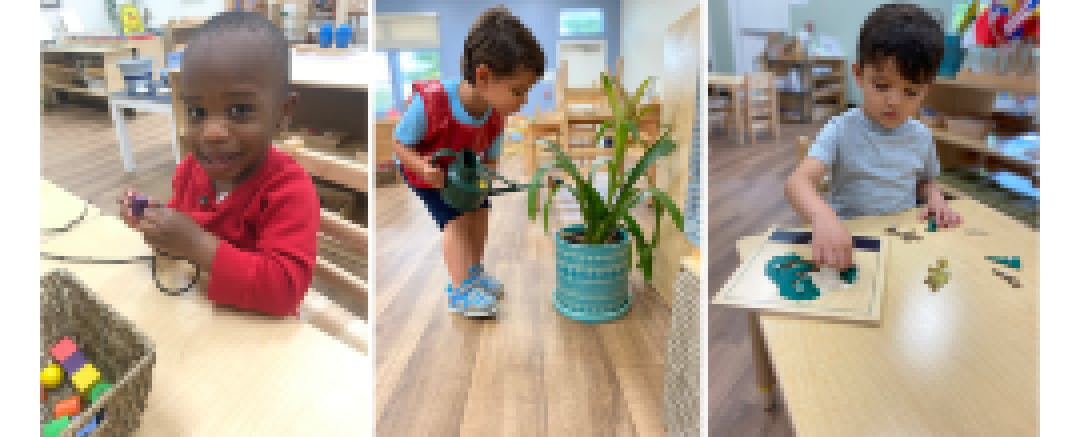 Children of essential workers at Higher Ground Montessori