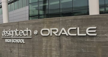 The First Day of School at Design Tech High's New Oracle Campus